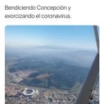 Arzobispo Fernando Chomalí explica «exorcismo aéreo» contra el coronavirus en Concepción