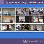Gobierno presenta anuncios en Pensiones a la Comisión de Trabajo del Senado