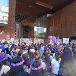 Miles de mujeres conmemoran un 8M en pandemia a lo largo del país