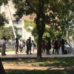 17 personas detenidas en fiesta callejera en pleno Parque Bustamante