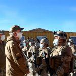 Ministro de Defensa y FFAA respaldan acusación del Ejército contra La Red