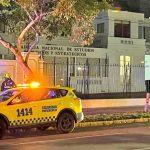 Bomba de ruido detona en la Academia Nacional de Estudios Políticos y Estratégicos