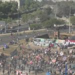 🎥 EN VIVO | Personas se congregan en Plaza Italia para conmemorar segundo aniversario del estallido social